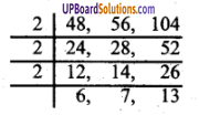 UP Board Class 6 Maths Book Pdf In English लघुत्तम समापवर्त्य एवं महत्तम समापवर्त Chapter 10