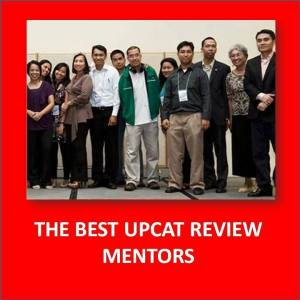 UPCAT Review Mentors