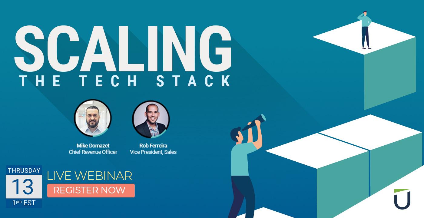 Scaling the Tech Stack webinar