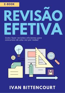 E-book Revisão Efetiva da UP Concurseiros
