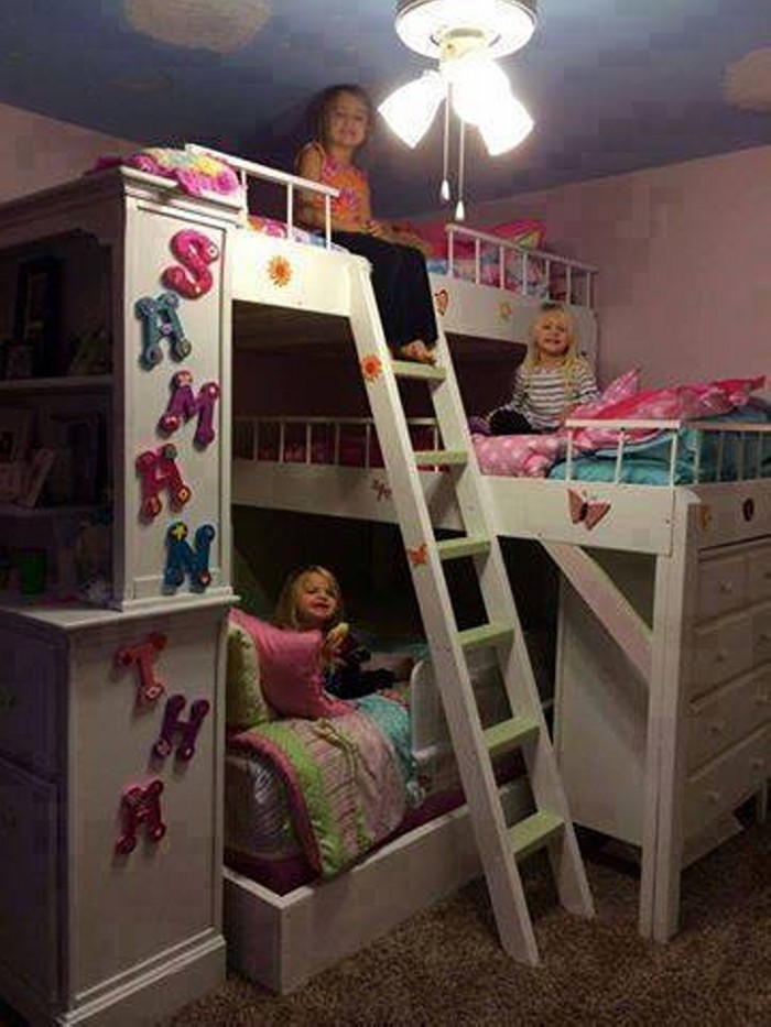 Multiple Bunk Bed Ideas Upcycle Art