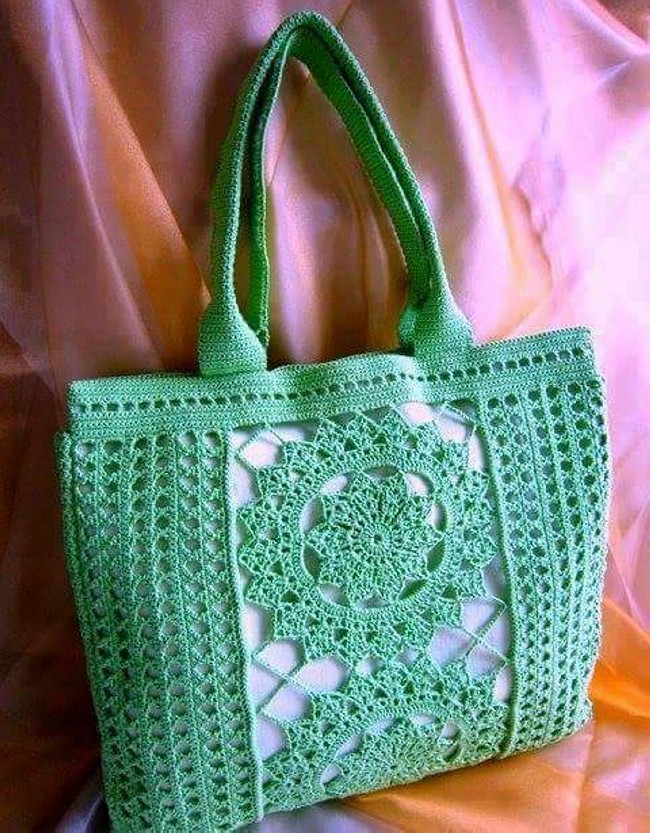 Crochet Hand Bag Pattern Collection