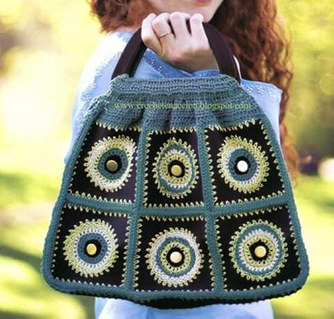 Cute Crochet Hand Bag Pattern