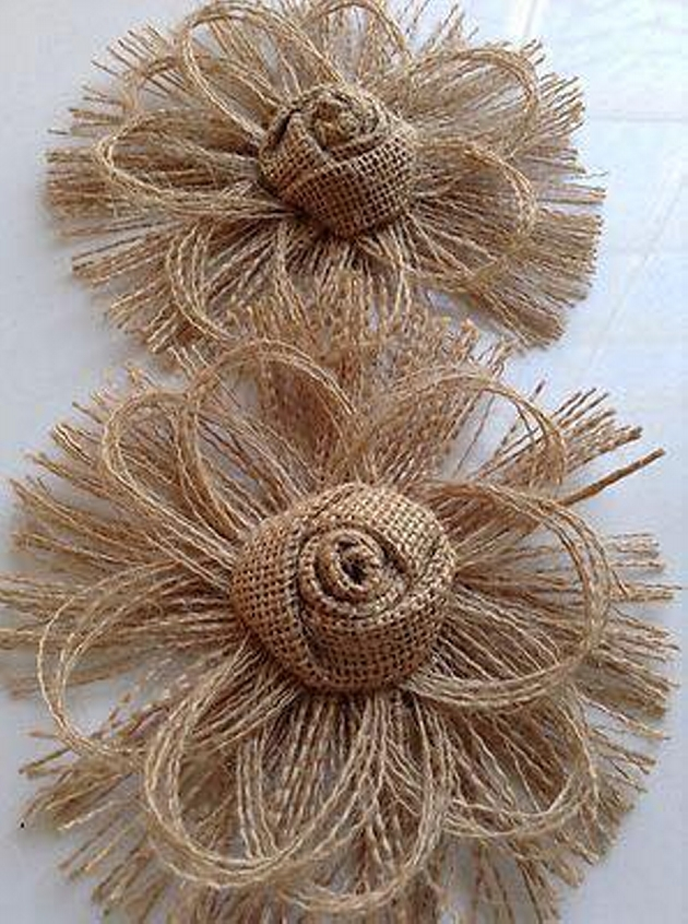 Burlap Upcycling Ideas For Ornaments Upcycle Art