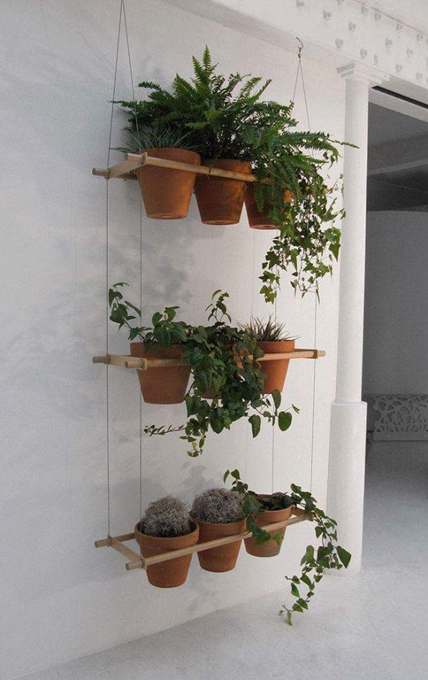 Knickknack Ideas for Hanging Plants   Upcycle Art on Plant Hanging Ideas  id=68092