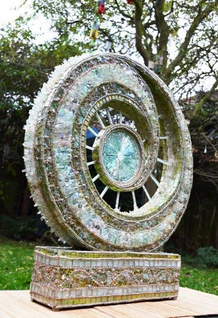 Mosaic Illuminations Sculptures Amp Light Boxes Upcycle Art