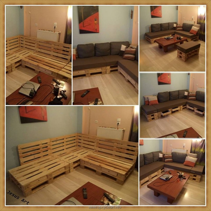 Inspiriting Pallet Reusing Ideas | Upcycle Art on Pallet Room  id=61270