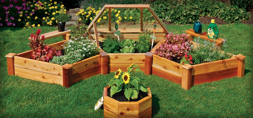 30+ Ideas for Raised Garden Beds   Upcycle Art on Backyard Raised Garden Bed Ideas id=86374