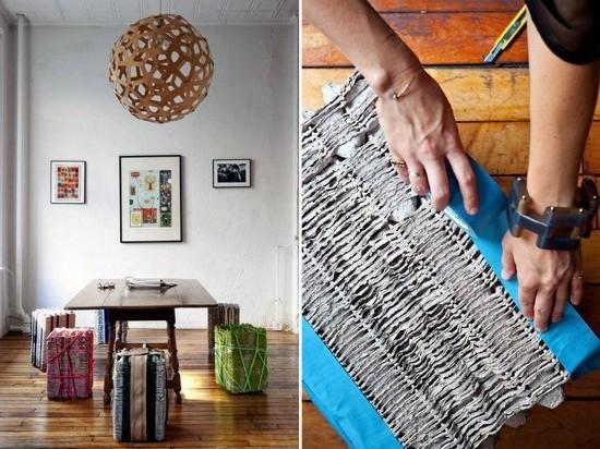 pascua ideas del arte cartón de huevos reutilizan las heces muebles para el hogar bricolaje comedor