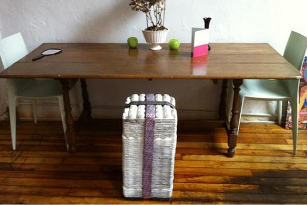 ideas del arte cartón de huevos reutilizan barato taburete silla maneras upcycling