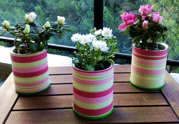 Decorative Recycling Containers For Home