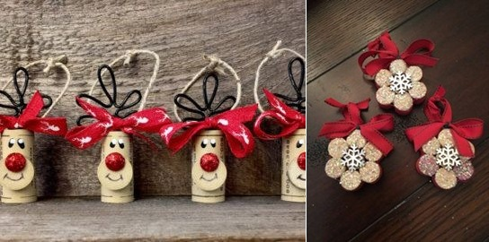 Wine Cork Christmas Crafts 20 Brilliant Decoration Ideas