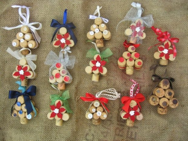 Wine Cork Christmas Crafts 20 Brilliant Decoration Ideas