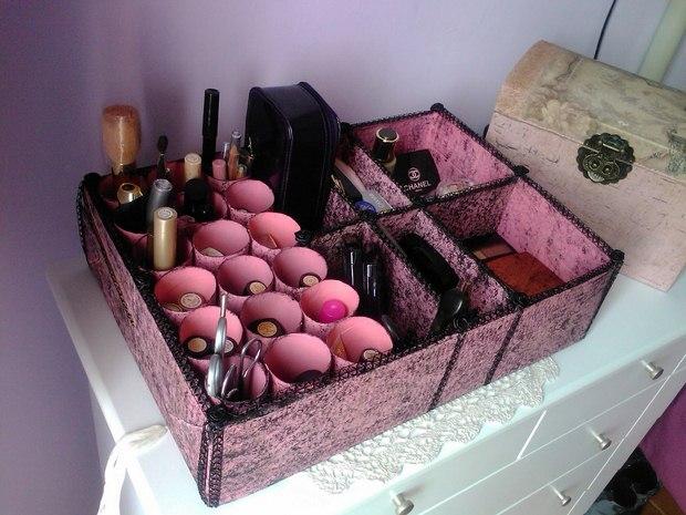 Reuse Shoebo Makeup Box Organizer Diy Woman Accessories Amazing Idea