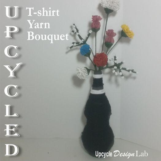 T-shirt yarn bouquet