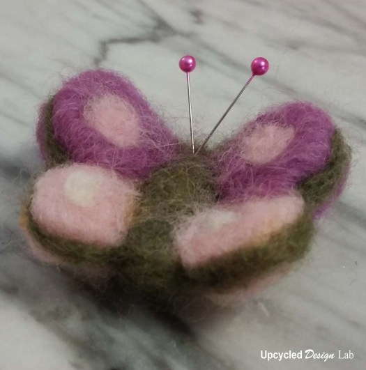 Felted Pin Cushion Rings