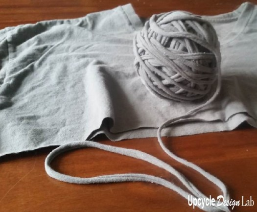 T-shirt yarn octopus