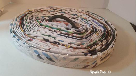 Step 15 Magazine paper hamper