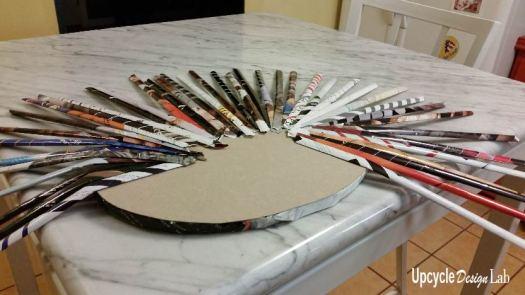 Step 5 Magazine paper hamper
