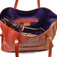 Bags Made Out Of Upcycled Fire Hose by Elvis & Kresse