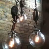 Wench Hooks pendants by Omega Lighting Design