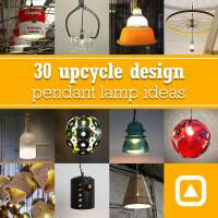 30 upcycle design pendant lamp ideas