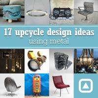 17 upcycle design ideas using metal