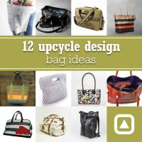12 upcycle design bag ideas