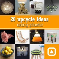 26 upcycle ideas using plastic