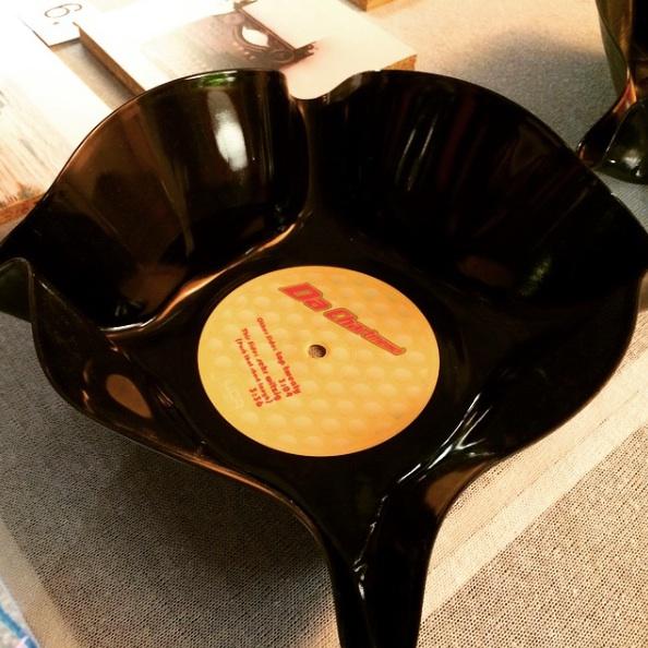 Schallplatten Schüssel