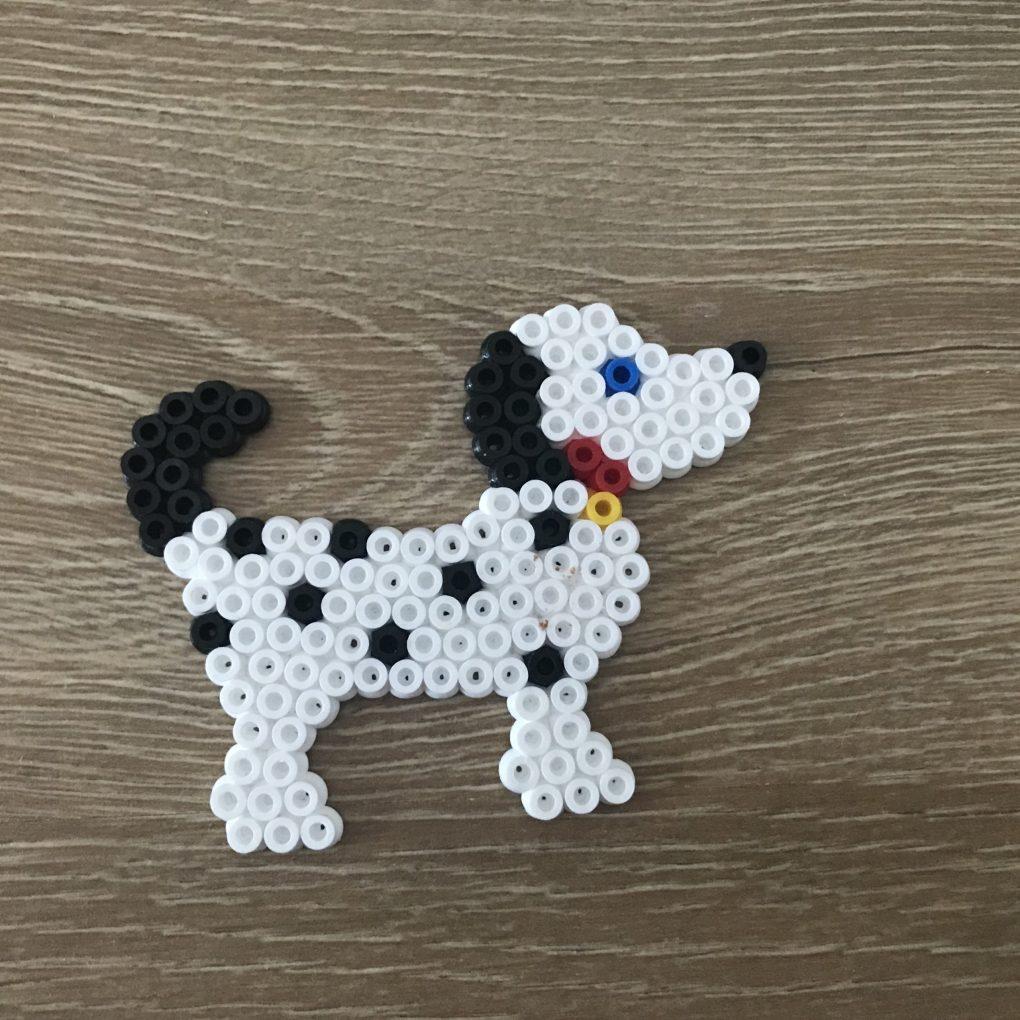 Bügelperlen Hund