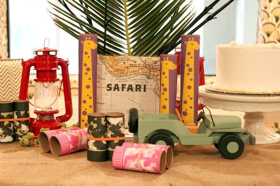 upcycled safari party