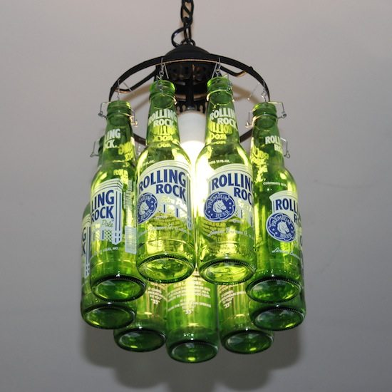 Beer Bottle Lamp | Upcycle That