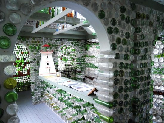 Bottle Houses Of Pei Upcycle That