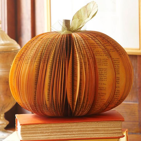 upcycled pumpkin
