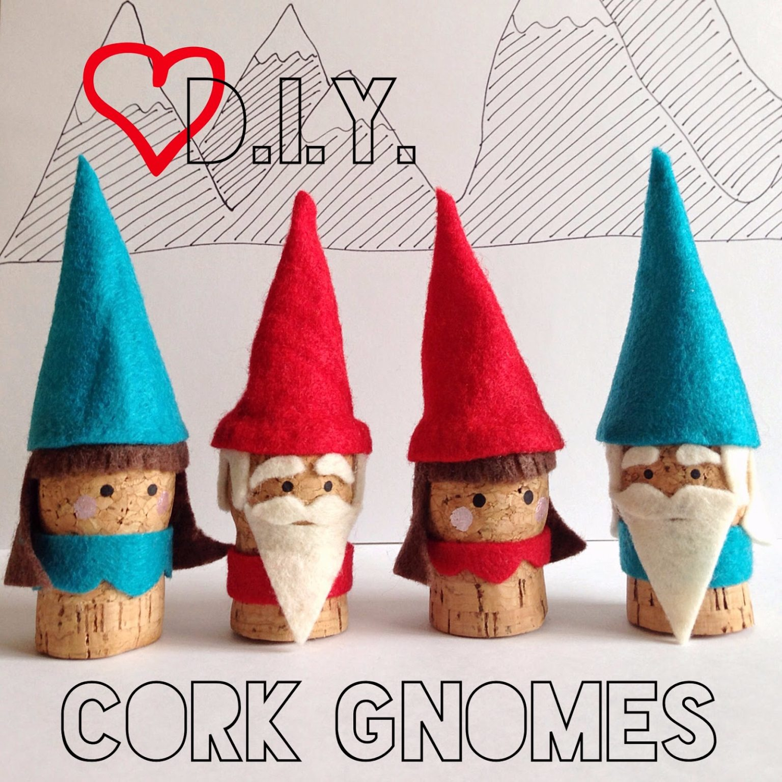 Easy Gnome Crafts