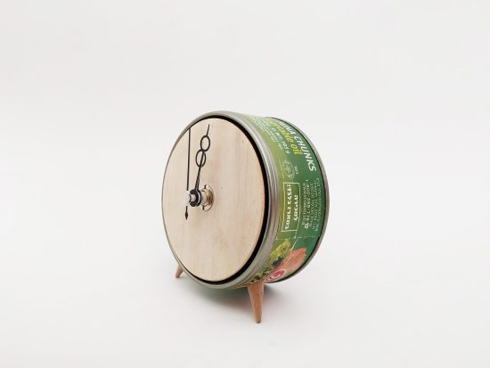 Clock No.7 – Green and Poplar