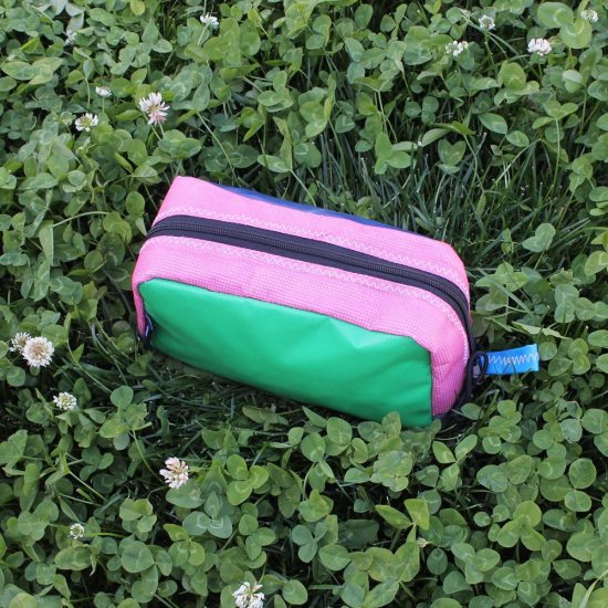 Toastie Pouch – Blue, Green & Pink