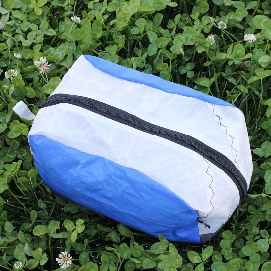 Toastie Yacht Sail Pouch – Blue and White