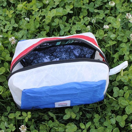 Toastie Yacht Sail Pouch – Blue, White and Red