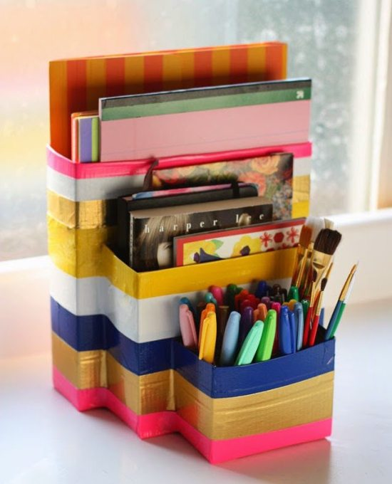 Dorm room ideas - desk caddy