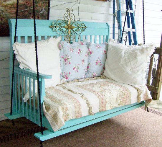 DIY Upcycled Crib
