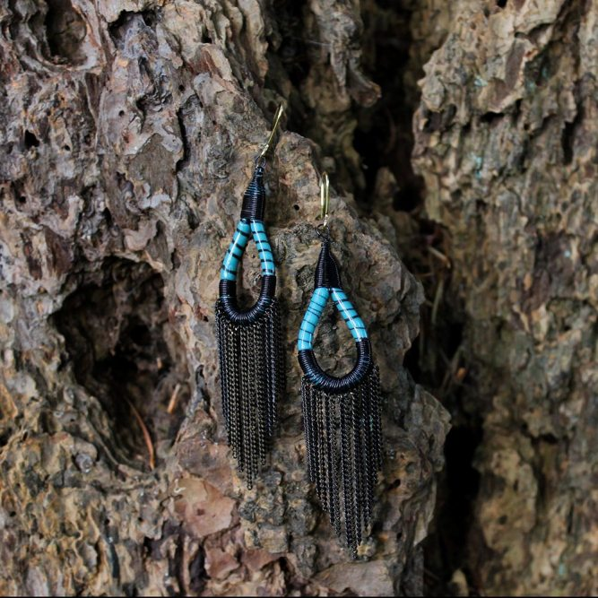 Flip Flop Earrings – Turquoise