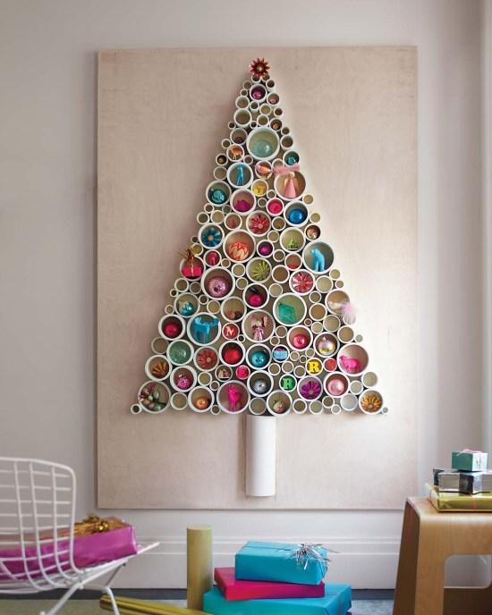 Alternative Christmas Tree - PVC pipe tree