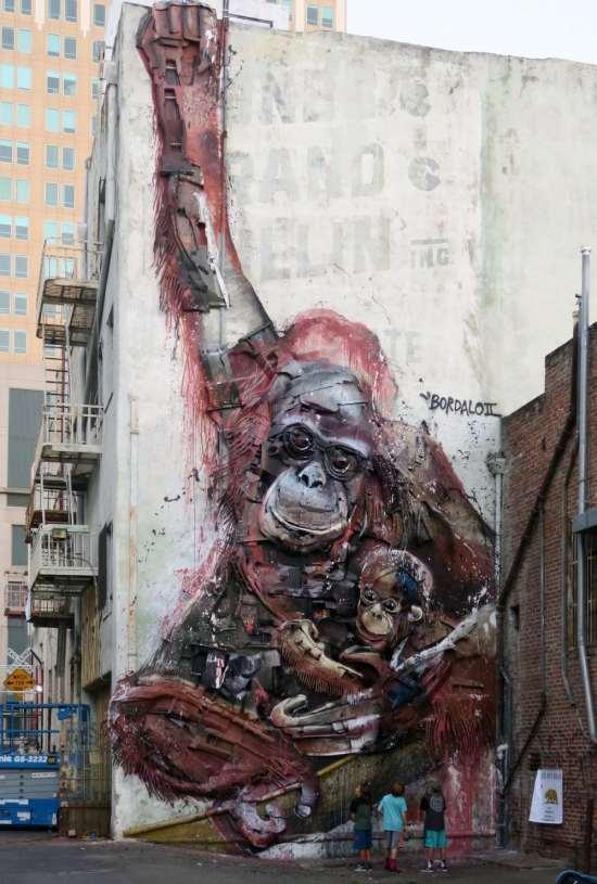 Trash Animal - orangutan