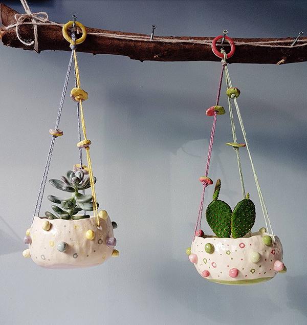10 Handmade Ceramic Plant Pots Available On Etsy Upcyclist