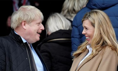 UK Prime Minister Boris Johnson and His Wife Carrie