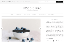 Food Blog WordPress Themes For Recipe Cooking Bloggers