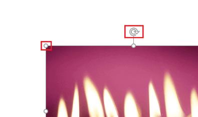 resizing and image rotation option
