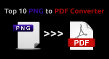 Top 10 PNG to PDF Converter Online